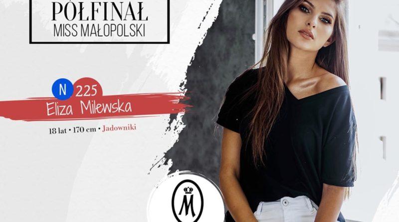Eliza Milewska w półfinale Miss Nastolatek Małopolski 2020
